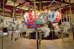 Horse Carousel Royalty Free Stock Image