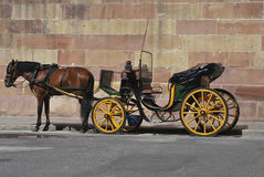 Horse carriage Stock Photos