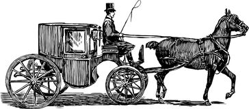 Free Horse Carriage Royalty Free Stock Photos - 30185078