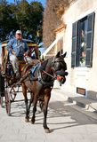 Horse and carriage, Mdina, Malta. Stock Images