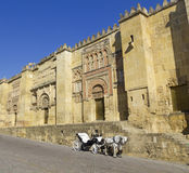 Horse carriage in Cordoba, Spain Royalty Free Stock Photography