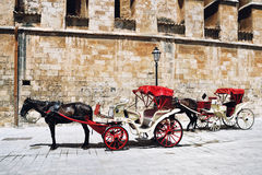 Horse Carriage, Majorca Stock Photos