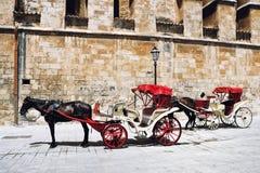 Horse Carriage, Majorca Stock Photos