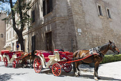 Horse-carriage, Majorca Royalty Free Stock Image