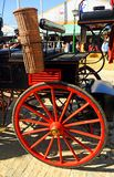 A horse carriage during the Seville Fair in Andalusia, Feast in Spain Stock Photography