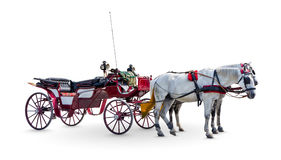 Horse Carriage. Royalty Free Stock Image