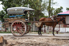 Horse Cart - Amarapura, Myanmar Stock Photography
