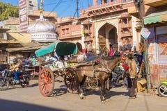 Horse cart in Jodhpur Royalty Free Stock Photography