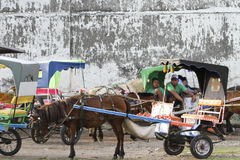 Horse cart Royalty Free Stock Images