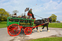 Horse and cart Royalty Free Stock Photos