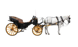 Horse Cart Royalty Free Stock Image
