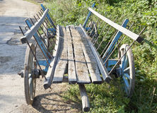 Horse Cart. By the side of the road Royalty Free Stock Image