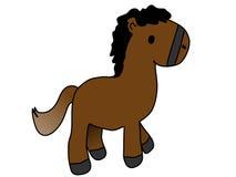 Horse cartoon Stock Images