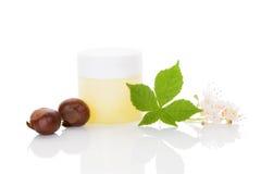 Horse chestnut cosmetics.