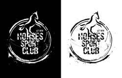 HorsesSportClub Royalty Free Stock Photo