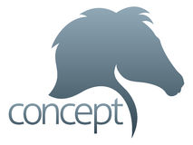 Horse concept Royalty Free Stock Images