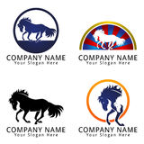 Horse Concept Logo Royalty Free Stock Photo