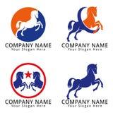 Horse Concept Logo Stock Photography