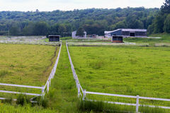 Horse corrals Royalty Free Stock Images