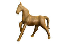 A horse craft Stock Images