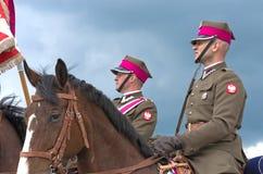 Horse detachment Stock Images