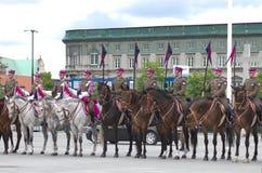 Horse detachment Stock Photos