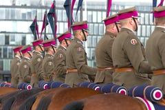 Horse detachment Stock Photo