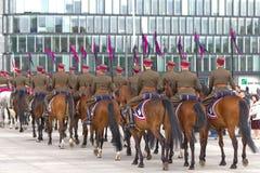 Horse detachment Stock Image
