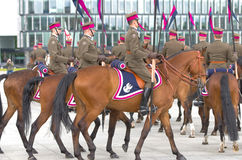 Horse detachment Stock Photography