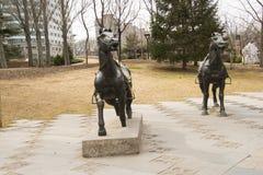 ¼ ŒHorse di Sculptureï Immagini Stock Libere da Diritti