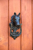 Horse door knocker Stock Photography