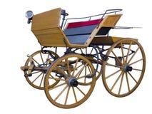 Ανοικτή horse-drawn μέση θέση μεταφορών Στοκ Φωτογραφίες