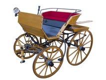 Ανοικτή horse-drawn υψηλή θέση μεταφορών Στοκ φωτογραφία με δικαίωμα ελεύθερης χρήσης