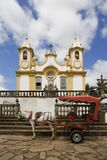 Horse Drawn Carriage, Brazil Stock Photos
