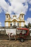Horse Drawn Carriage, Brazil Stock Photos