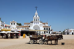 El Rocio, Andalusia Spain Stock Photo
