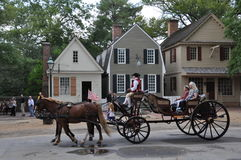 Free Horse-drawn Carriage Rides In Williamsburg, Virginia Royalty Free Stock Photos - 59741788