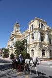 Horse-drawn carriage in Malaga Royalty Free Stock Image