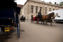 Horse-drawn carriage Royalty Free Stock Photography