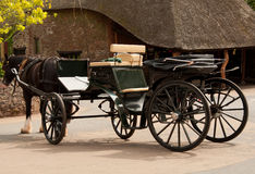 Horse Drawn Cart Royalty Free Stock Photos