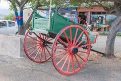 Horse-drawn cart in Calitzdorp Royalty Free Stock Photos