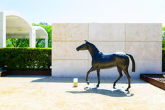 Horse by Elisabeth Frink, Royalty Free Stock Photography