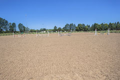 Horse Equestrian Arena Royalty Free Stock Images