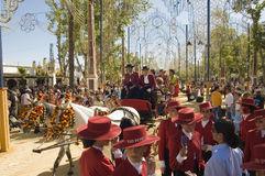Free Horse Fair In Jerez, Cadiz Spain Stock Photos - 10078263