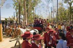 Horse Fair in Jerez, Cadiz Spain Stock Photos