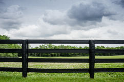 Horse Farm Fence Royalty Free Stock Images