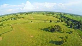 Horse farms in Central Kentucky