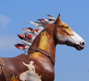 Horse Float In K-Days Parade Royalty Free Stock Image