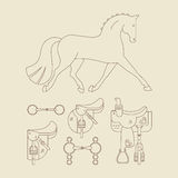 Horse Gear Stock Images