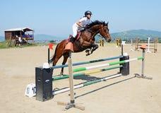 Horse girl Stock Photos